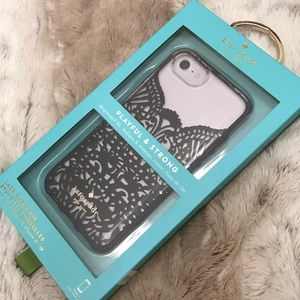 Kate Spade ♠️ Lace iPhone Case 7/6/6s